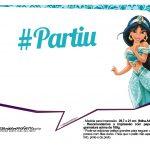Plaquinhas Divertida Princesa Jasmine 20