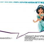 Plaquinhas Divertida Princesa Jasmine 21