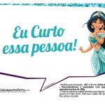 Plaquinhas Divertida Princesa Jasmine 9