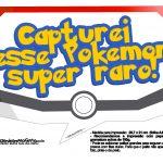 Plaquinhas Divertidas Pokémon Grátis para Imprimir 2