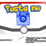 Plaquinhas Divertidas Pokémon Grátis para Imprimir 11