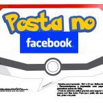 Plaquinhas Divertidas Pokémon Grátis para Imprimir 16