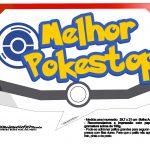 Plaquinhas Divertidas Pokémon Grátis para Imprimir 22