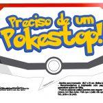 Plaquinhas Divertidas Pokémon Grátis para Imprimir 1