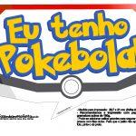 Plaquinhas Divertidas Pokémon Grátis para Imprimir 24