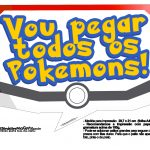 Plaquinhas Divertidas Pokémon Grátis para Imprimir 4