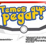 Plaquinhas Divertidas Pokémon Grátis para Imprimir 5
