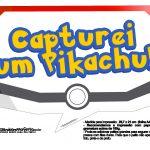 Plaquinhas Divertidas Pokémon Grátis para Imprimir 6