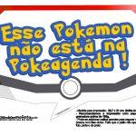 Plaquinhas Divertidas Pokémon Grátis para Imprimir 7