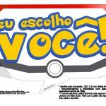 Plaquinhas Divertidas Pokémon Grátis para Imprimir 9
