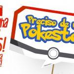 Plaquinhas Pokémon Grátis para Imprimir em Casa