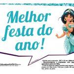 Plaquinha Princesa Jasmine 3