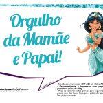 Plaquinhas Princesa Jasmine 4