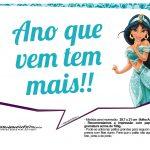 Plaquinhas Princesa Jasmine 5