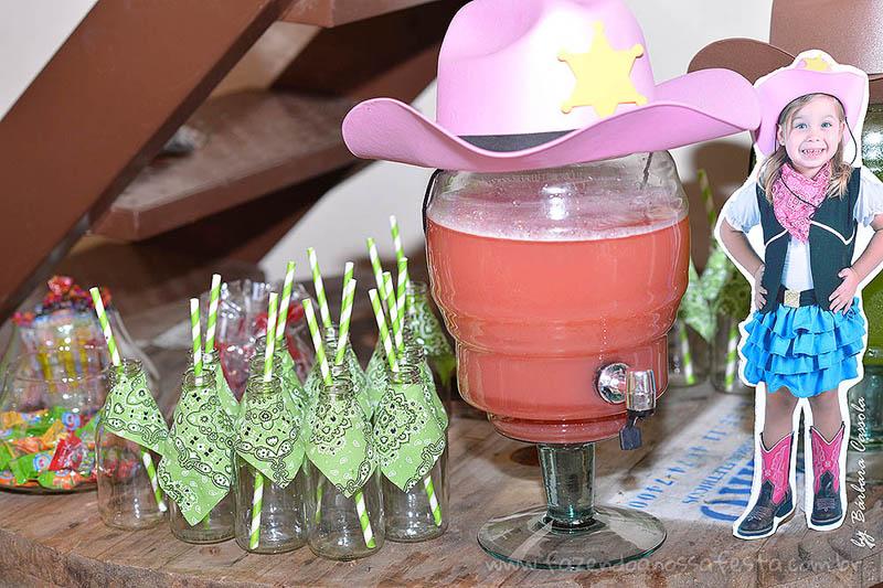 Suco Festa Infantil Xerife Callie