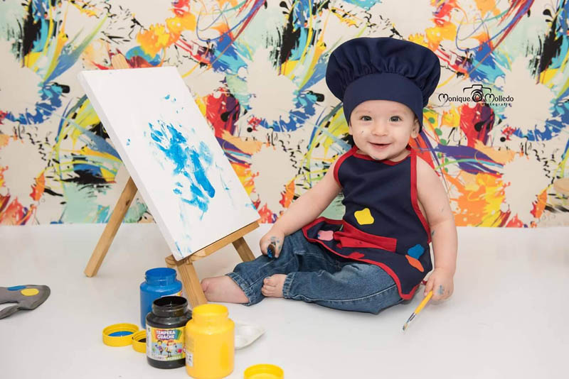 14 ideias incríveis de Ensaios Fotográficos para Bebês - By Monique Molledo Fotografia 5