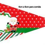 Bandeirinha Sanduiche 1 Natal Papai Noel