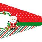 Bandeirinha Sanduiche Kit Natal