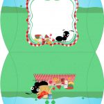 Bolsinha para Lembrancinha Kit Festa Picnic