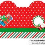 Caixa Coração Natal Papai Noel