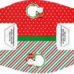Caixa Mini Cachorro quente Kit Natal