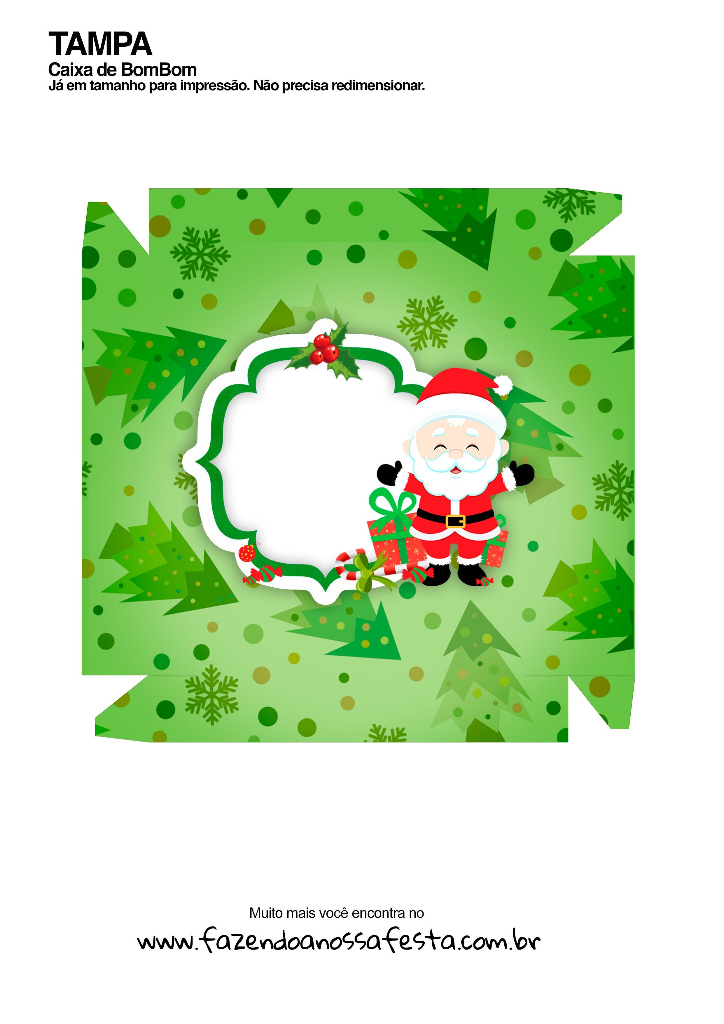 Caixa Talento Prestígio e Bis para Natal 10 - parte de fora