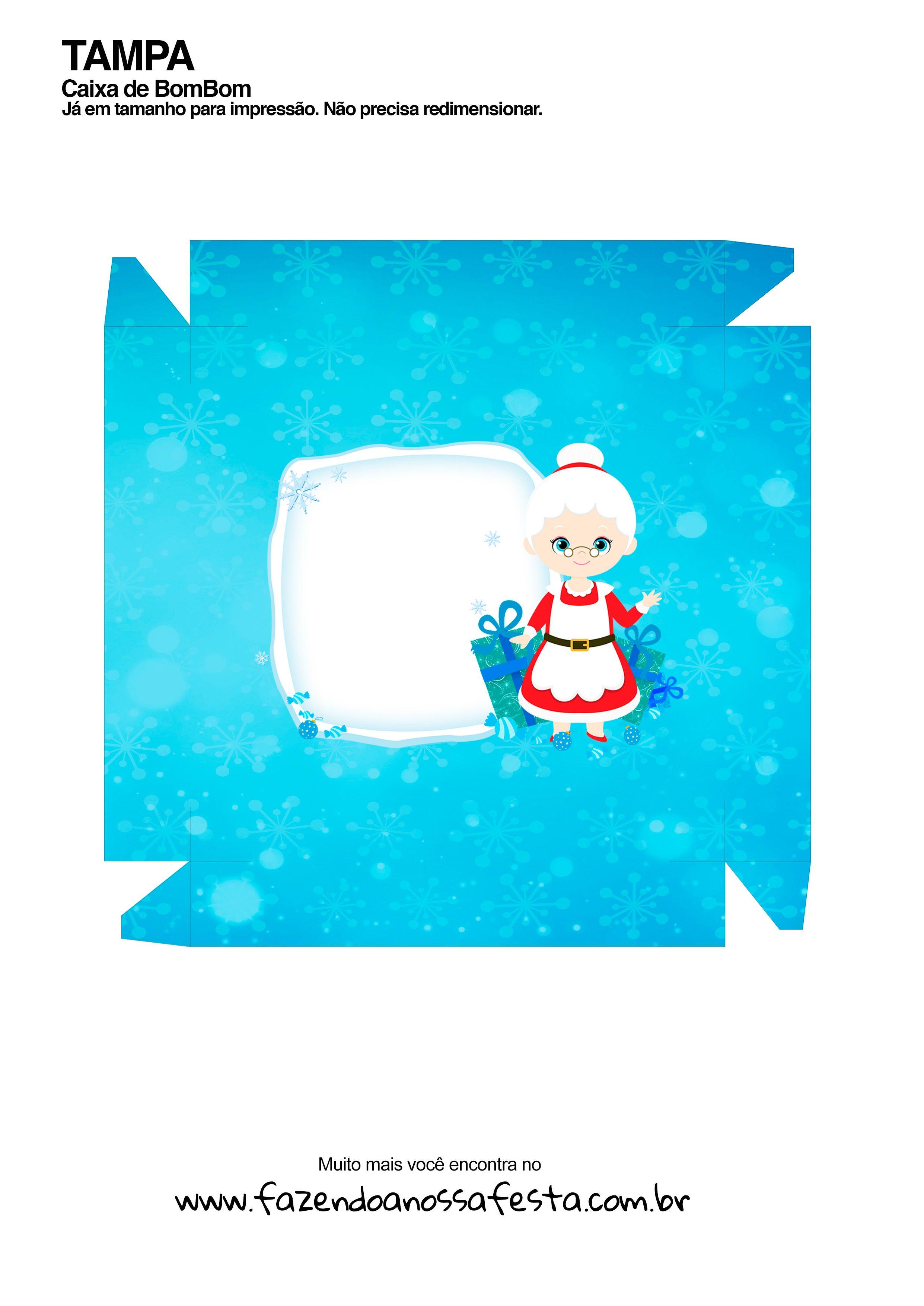 Caixa Talento Prestígio e Bis de Natal 12 - parte de fora