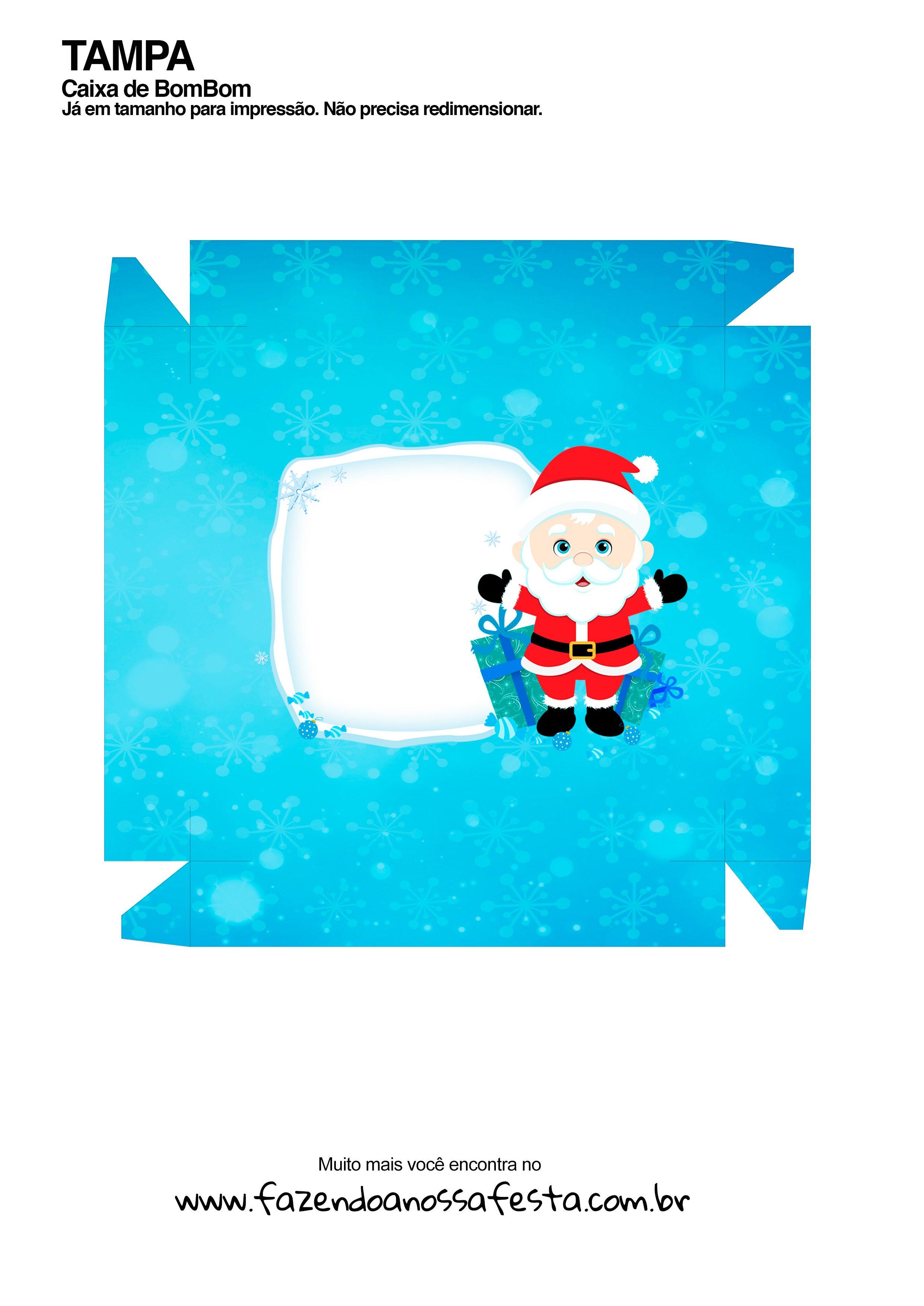 Caixa Talento Prestígio e Bis para Natal 14 - parte de fora