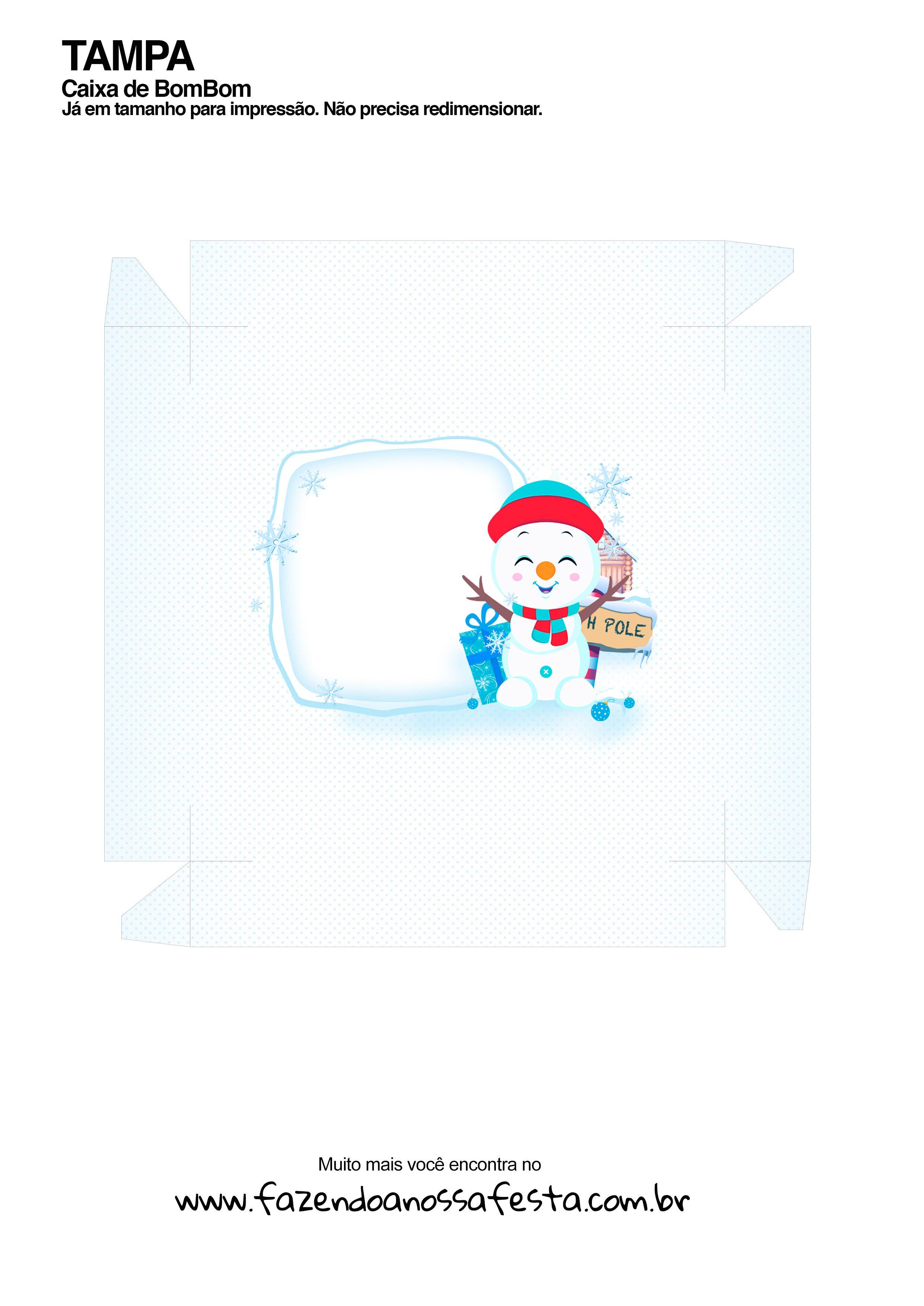 Caixa Talento Prestígio e Bis de Natal 3 - parte de fora