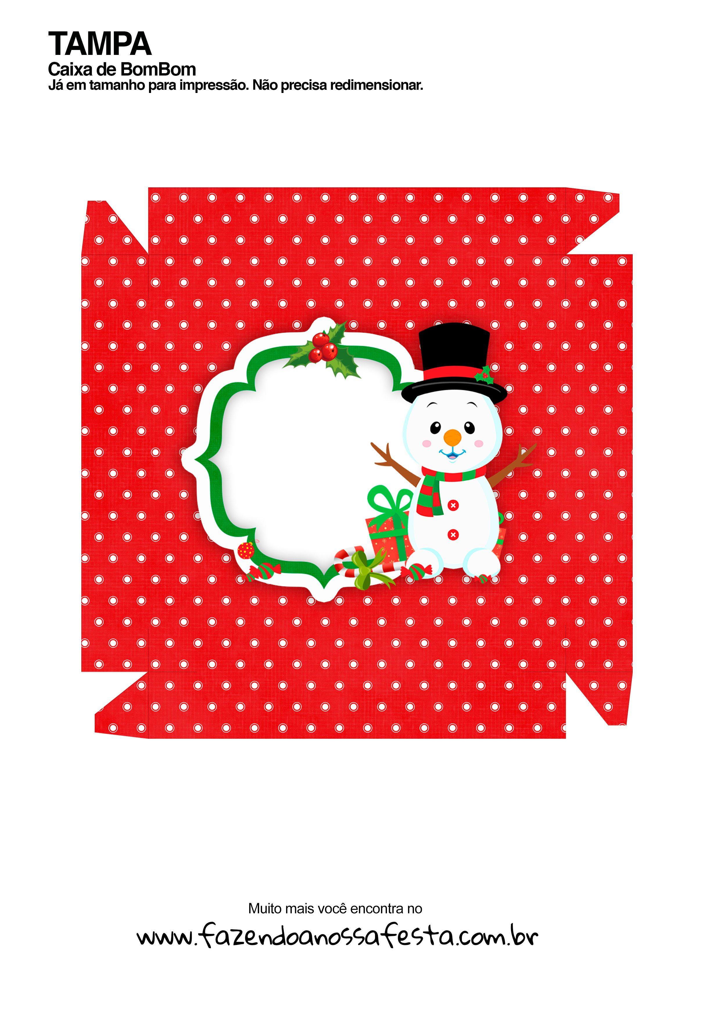 Caixa Talento Prestígio e Bis de Natal 4 - parte de fora