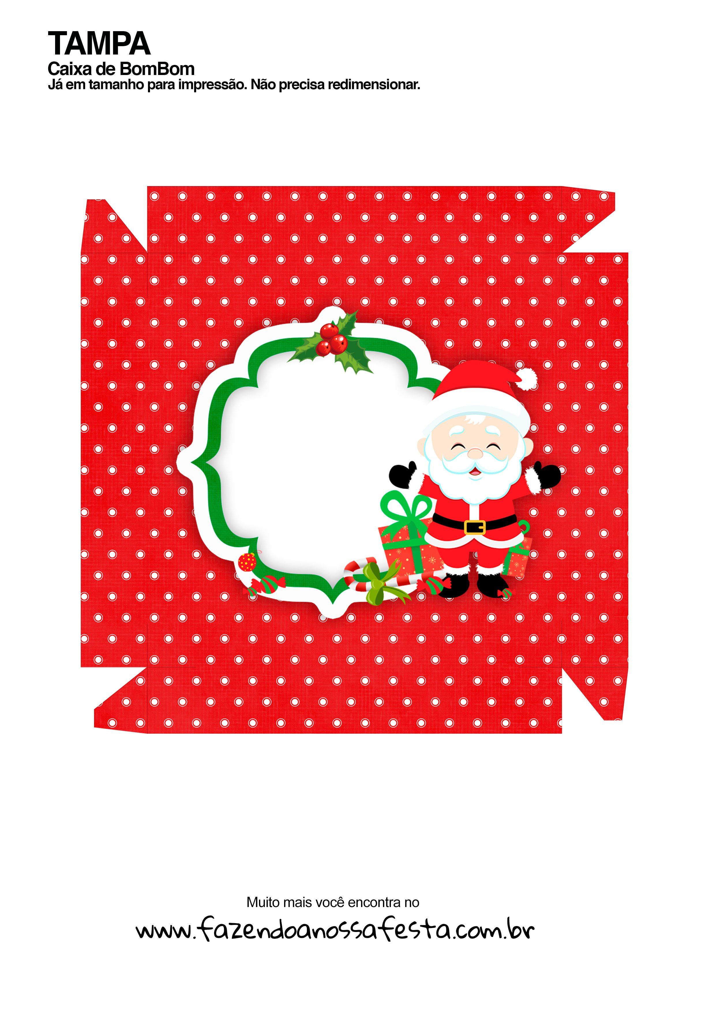 Caixa Talento Prestígio e Bis de Natal 8 - parte de fora