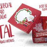 Caixa Talento Prestígio e Bis para Natal Grátis para Imprimir