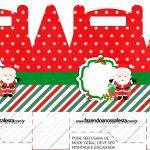 Caixa Bombom Natal Papai Noel