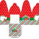Caixa com Foto Natal Papai Noel