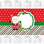Calendário 2016 Natal Papai Noel