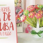 Como fazer Flor de Jujuba para Festa Passo a Passo
