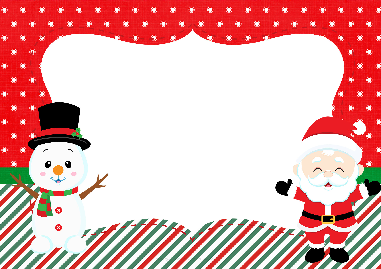 Convite 2 Natal Papai Noel