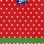 Convite Bis Duplo 3D Natal Papai Noel
