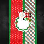 Convite Chalkboard Natal Papai Noel