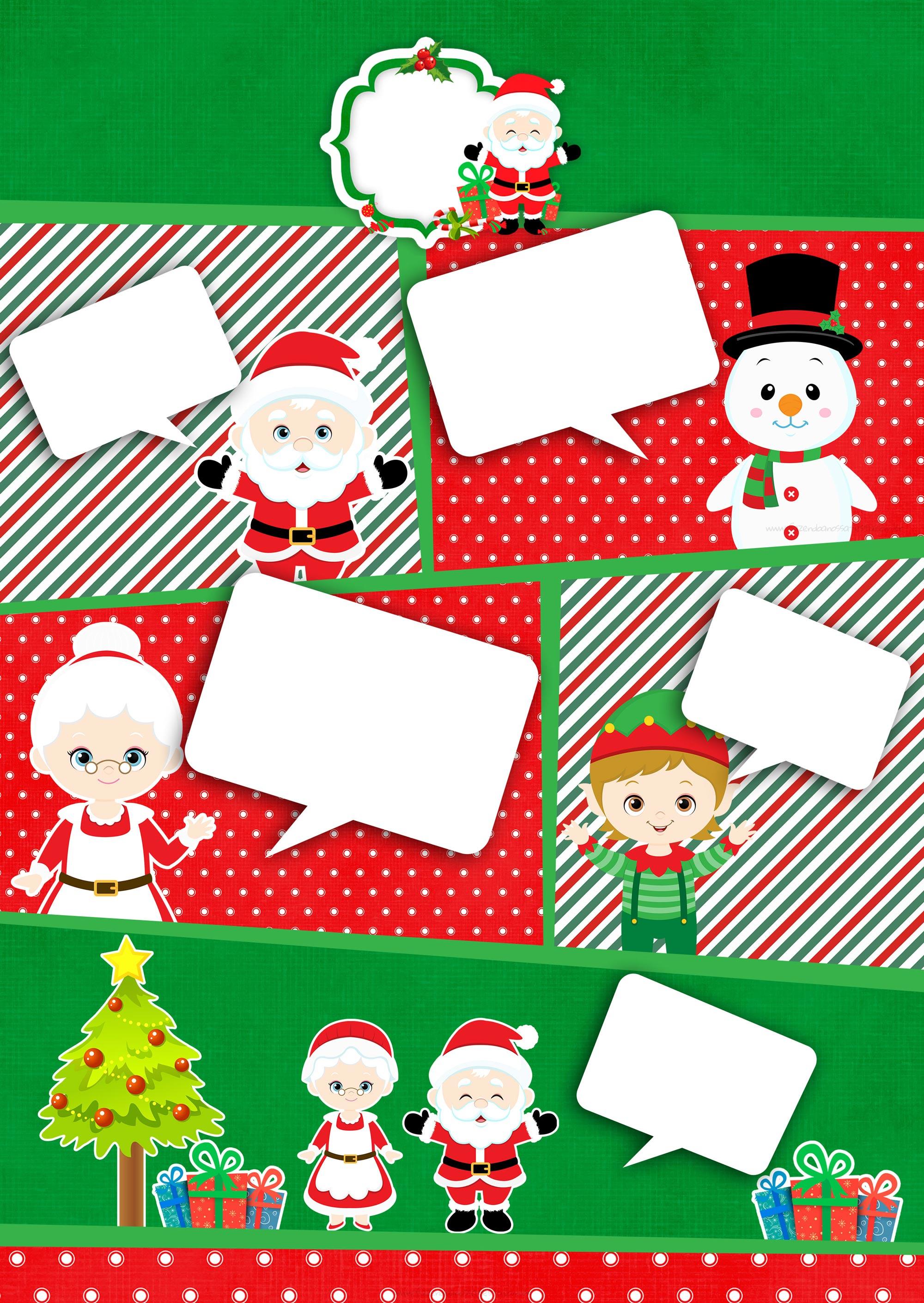 Convite Gibi para Natal
