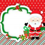 Convite para Festa Natal Papai Noel