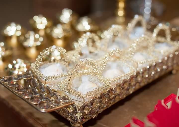 Doces Festa Coroa de Princesa da Isabela