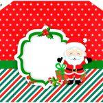 Envelope Convite Natal Papai Noel
