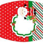 Esmalte Natal Papai Noel