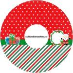 Etiqueta CD DVD Natal Papai Noel
