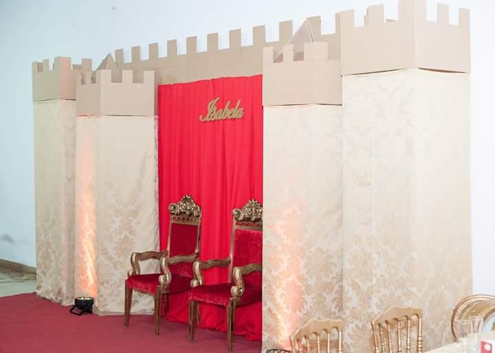 Festa Coroa de Princesa da Isabela
