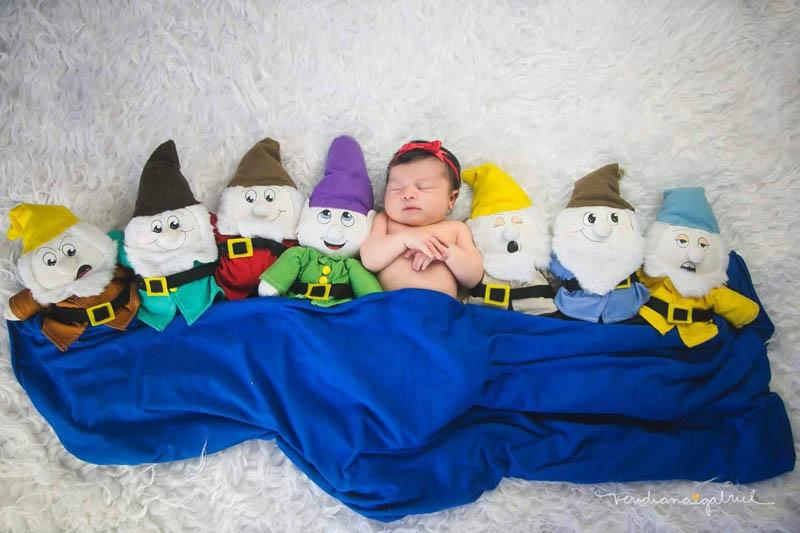 Ideias Incríveis de Ensaios Fotográficos para bebês - By Veridiana Gabriel Fotografia 4