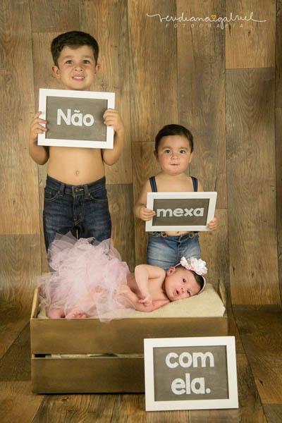Ideias Incríveis de Ensaios Fotográficos para bebês - By Veridiana Gabriel Fotografia 5
