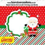 Mini Baton Garoto Natal Papai Noel