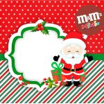 Mini M&M Natal Papai Noel